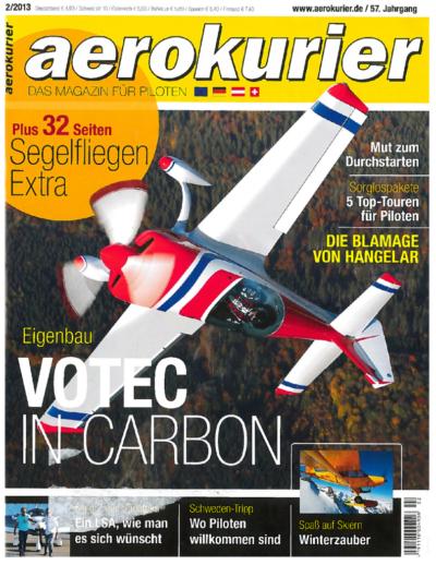Flugschule Mannheim Zeitung aerokurier